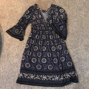 Max Edition Patterned Dress Size XL